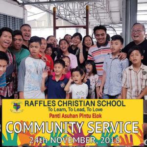 Raffles Goes To Pintu Elok Orphanage